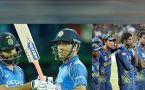 India clinches 5 match ODI series against Sri Lanka 3 0, Rohit and Dhoni guides easy win