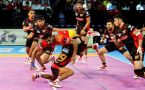 PKL 2017: Gujarat Fortunegiants defeat Bengaluru Bulls 27-24, highlights