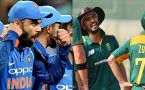 India vs South Africa 2018: Series schedule announced