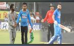 India vs NZ 3rd ODI : Virat Kohli's fan rush to ground after skipper hits 32nd ton
