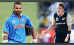 India vs NZ 3rd ODI : Shikhar Dhawan dismissed on 14 runs, Blues lose first wicket