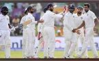 India vs SL 1st test 3 day highlights : Host all out for 172, Lankans manage 165/4