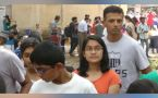 Rahul Dravid stands in queue at a science fair with kids, gets praised