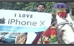 iPhone X : Mumbai man takes out procession to buy latest smartphone, Watch video