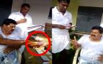 AIADMK MLA caught on camera distributing money and liquor to party cardes, Watch