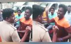 Chennai youth slaps cop after being stopped for triple riding, Watch video