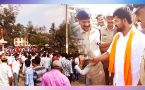 BJP MP's arrest sparks off violent clashes in Mysuru,