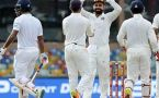 India vs SL 3rd test 3rd day higlights : Mathews and Chandimal kept islands hope afloat