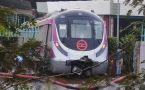 Delhi Metro crashes into wall, days before PM Modi inaugurates Magenta line