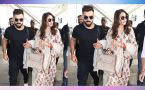 Virat Kohli and Anushka Sharma spotted at Delhi Airport, hours after reception, Watch