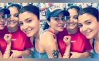 Virat Kohli and Shikhar Dhawan's wives Anushka and Aesha sweat it out in gym together