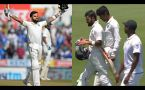 India bundled out 307 runs in reply to Porteas's 335, Kohli slams 153 runs