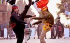 Beating Retreat:Thousands gather at Attari-Wagah border to witness electrifying event