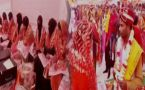 Hindu , Muslim couples tie knock in mass marriage in Uttar Pradesh