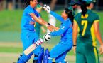 India vs South Africa women's 5th T20I : Indian eves set 166 run target, Mithali slams 50