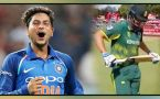 India vs South Africa 6th ODI : Chis Morris out for 4 runs, Kuldeep strikes