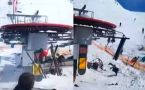 Georgia: Watch how Ski Lift goes OUT OF CONTROL, 8 people injured