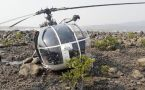 Indian Coast Guard Helicopter Crash Lands In Raigad