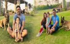 MS Dhoni shares video of chilling with wife Sakshi and daughter Ziva