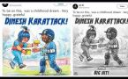 Dinesh Karthik shares photo of himself in Amul ad, says was my childhood dream