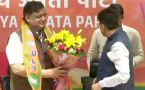 Veteran Samajwadi Party leader Naresh Agarwal joins BJP