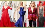 Oscars 2018 : Celebrities seen in colorful attair at the red carpet