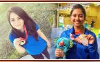CWG 2018 : Mehuli Ghosh and Apurvi Chandela bagging silver and bronze in Women's 10m Air Rifle competition