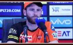 IPL 11: Kane Williamson SPEAKS UP on Defeat of SRH against Chennai Super kings ।