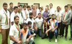 Rajnath Singh felicitates Indian wrestling team for Asian Games