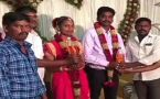 Tamil Nadu Couple receives 2 Bottle Petrol as Wedding Gift by Friends