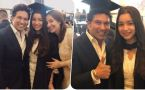 Sachin Tendulkar, Anjali celebrates Sara's Graduation Ceremony in London