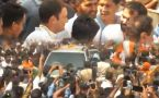Rahul Gandhi conducts Road Show in Bhopal, Madhya Pradesh