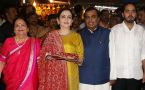 Mukesh Ambani, family offer prayers at Siddhivinayak Temple