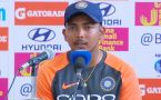 India Vs West Indies : Prithvi Shaw reveals Interesting Match Moments
