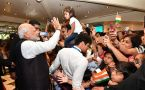 PM Modi receives grand welcome by Indian community in Argentina