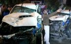 Delhi Meera Bagh: One killed, eight injured in vehicle pile-up