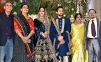 Saina Nehwal-Parupalli Kashyap look ravishing at their wedding reception