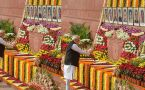 VP Naidu, PM Modi pay tribute to Parliament attack victims