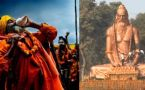 Kumbh Mela 2019 : Visitors flock to witness 30 Feet Tall Maharishi Bhardwaj Statue