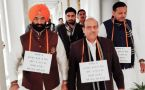 Rajiv Gandhi Bharat Ratna row: 3 BJP MLAs marshaled out from Delhi Assembly