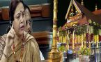 BJP MP Meenakshi Lekhi raises Sabarimala issue in Lok Sabha, women must Watch