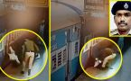 RPF personnel saves man, who slips from train; Watch CCTV video