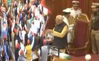 Opposition hurls paper balls during Governor Ram Naik's address in UP Assembly