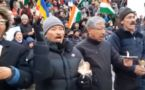 Pulwama : Ladakh Buddhist Association takes out Candle Light March, WATCH VIDEO
