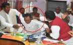 BJP MP beats party MLA with shoe, watch video