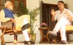 I never get angry, it surprises people, PM tells actor Akshay Kumar