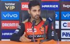 Bhuvneshwar Kumar blames batsman for losing match against MI