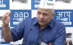 Manish Sisodia held a press confrence on AAP Congress alliance in Delhi