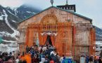 Kedarnath temple portals open for pilgrimage after Winter Break