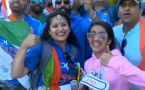 World Cup 2019 : Fans celebrate India's victory against West Indies